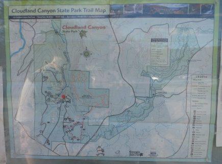Hiking at Cloudland State Park - Georgia