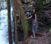 alexis chateau hiking fitness travel cloudland canyon state park