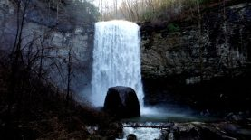 Waterfall at Cloudland Canyon State Park, Georgia