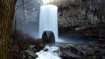 waterfall nature travel georgia