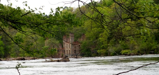 hiking trail travel explore sweetwater creek state park ruins