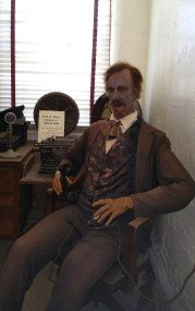 Creepy Statue at Franklin County Jail