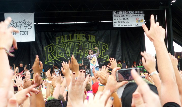 Falling in Reverse emo band