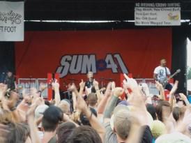 Sum 41 on Vans Warped Tour 2016