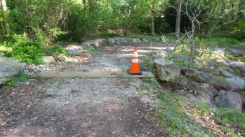 44 Caution Cone on Atlant Trail