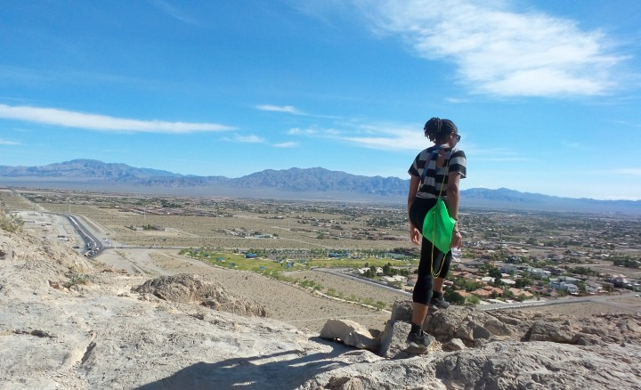 Alexis Travels to Las Vegas PT 4: Hiking Up Lone Mountain