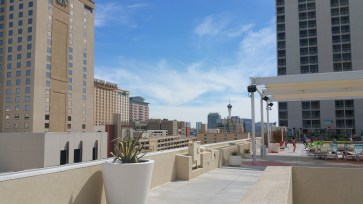 Plaza Hotel Roof top View Vegas 3