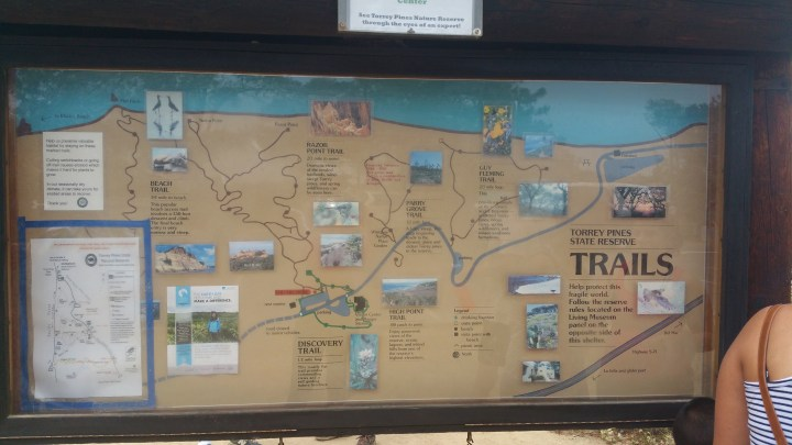 3 Torrey Pines State Reserve Map