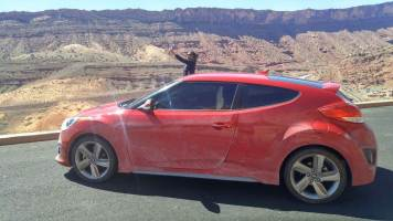 16 Alexis Chateau Hyundai Veloster Arches National Park Utah