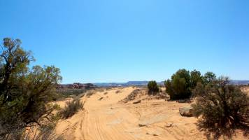 21 Arches National Park Dirt Road to Tower Arch