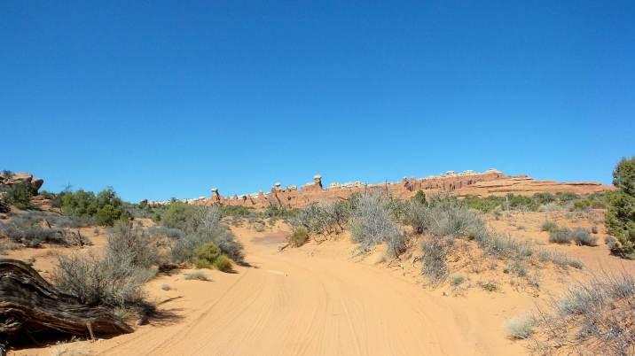 29 Arches National Park Utah Dirt Road
