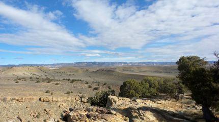 8 Thompson Viewing Area Utah Desert