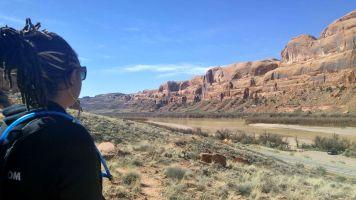 6.2 Alexis Chateau Corona Arches Hiking Trail Utah Colorado River