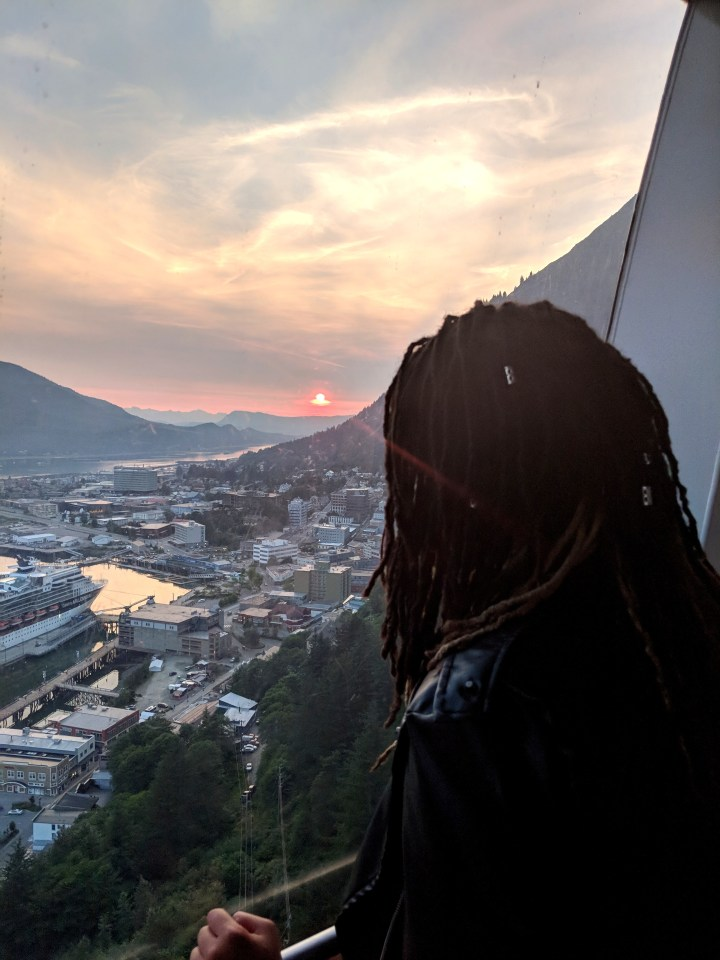 Travelling to Alaska: View of Juneau from the Mount Roberts Tramway