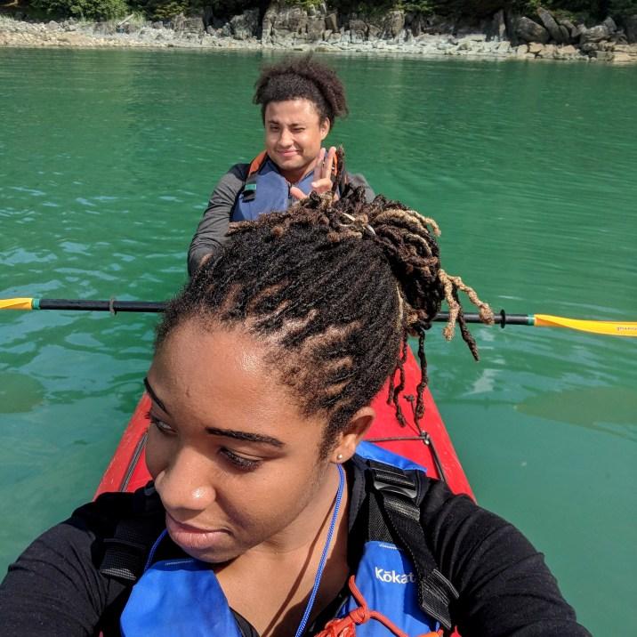 15 Sea Kayaking at Kayaker's Beach Juneay Alaska Alexis Chateau Tristan O'bryan