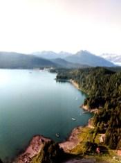 17 Sitka Alaska Coastline Aerial View