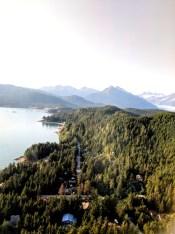 18 Sitka Alaska Flying Over Alaska Airlines
