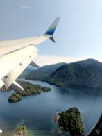 22 Flying Over Sitka Alaska