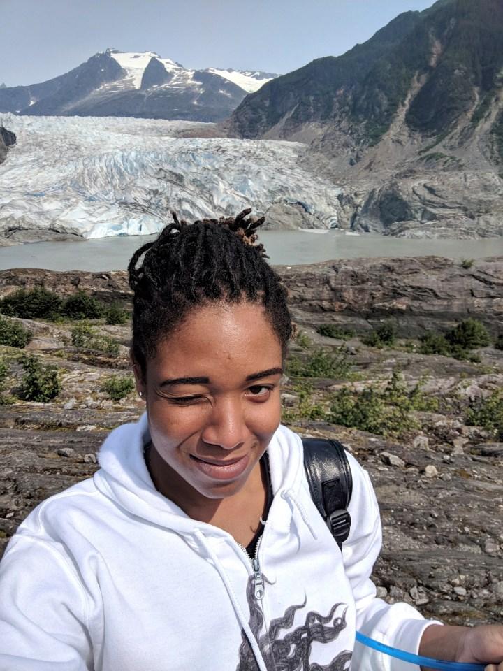 38.75 West Glacier Hiking Trail Mendenhall Glacier Alexis Chateau