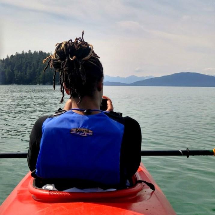Alexis Chateau Ocean Kayaking Alaska Travel Blogger