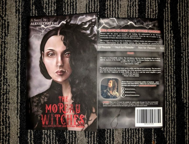 The Moreau Witches Paperback Novel by Alexis Chateau