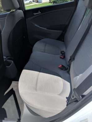 2016 Hyundai Hatchback SE Interior Back Seats