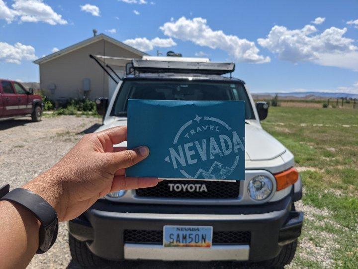 "Wordless Wednesday | Travel Nevada Sent Me ""Tattoos"" for Samson"