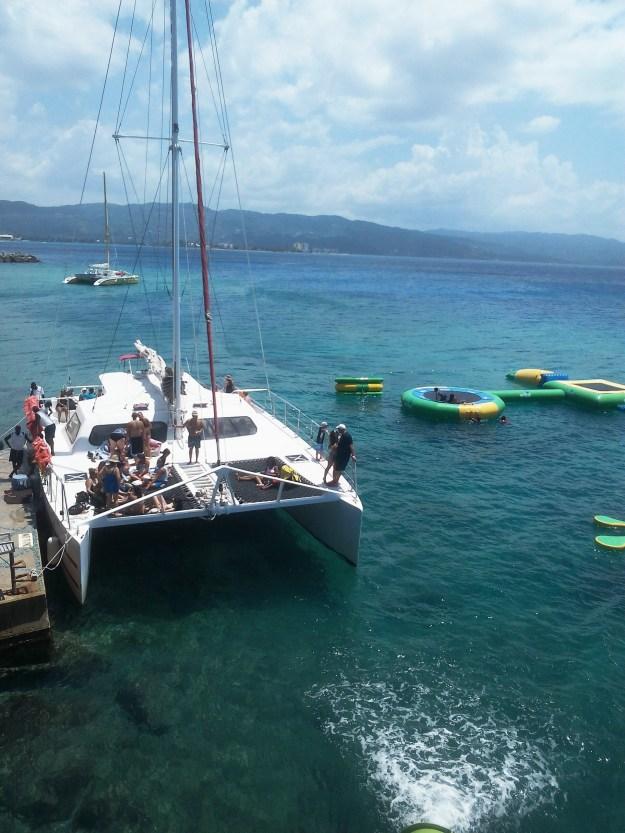 yacht margaritaville beach sea ocean montego bay jamaica