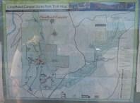hiking trail map travel