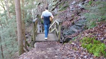 twotonetheartist bridge nature hiking