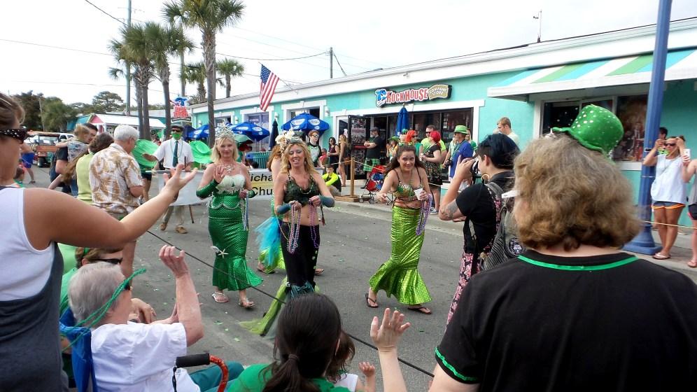 mermaid saint patrick travel explore parade