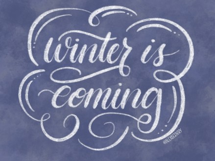 Winter is Coming - Letter Game of Thrones