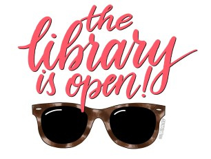 The Library is Open - RuPaul's Drag Race lettering challenge