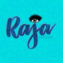 Raja - RuPaul's Drag Race lettering challenge