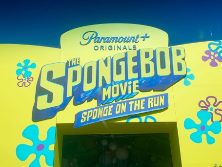 Paramount+ Sponge On The Run