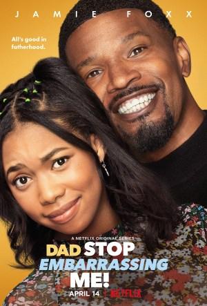 Netflix Dad Stop Embarrassing Me Poster