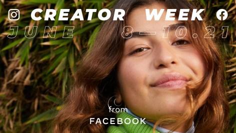 Instagram Facebook Creator Week