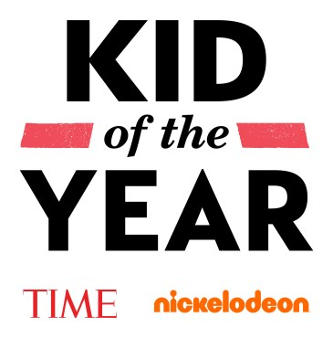 Nickelodeon and TIME Kid of the Year