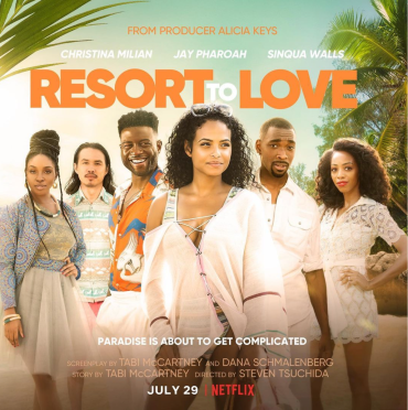 "Netflix ""Resort to Love"" Cast"