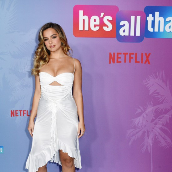 Addison Riecke at the special screening of He's All That