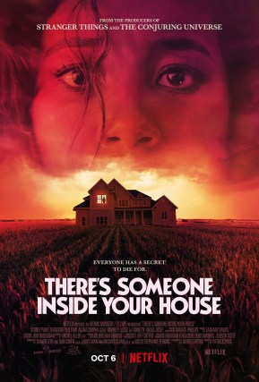 """Netflix's """"There's Someone Inside Your House"""" Movie Poster"""
