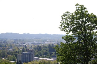 view from west overlook