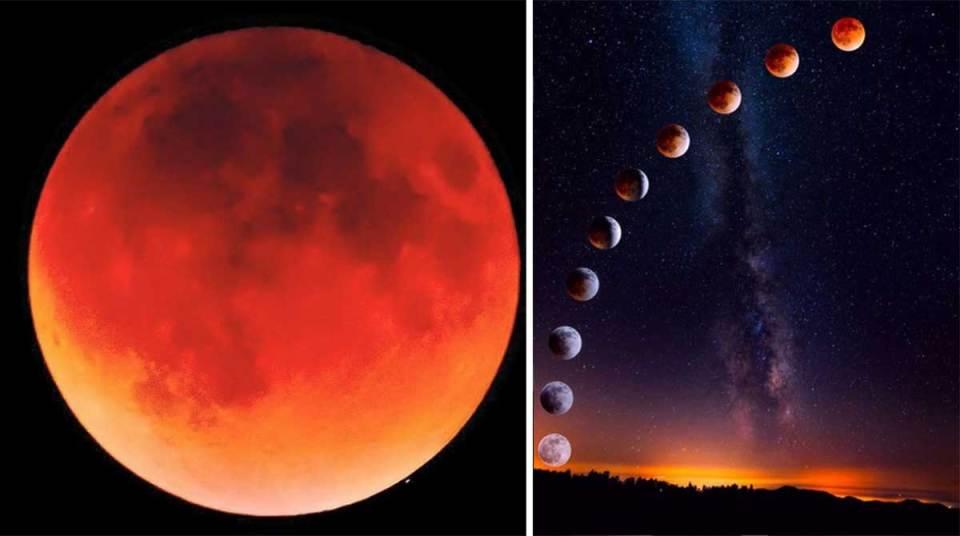 Resultado de imagen para la luna de sangre