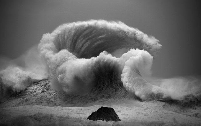 Mira En Estas Fotos El Majestuoso Poder De Las Olas Del Oceano