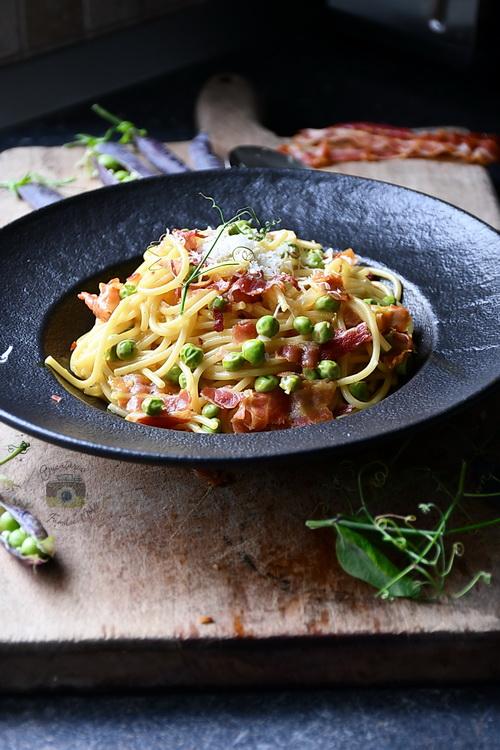 spaghette carbonara- Bucătăria Familiei mele- Alex Juncu