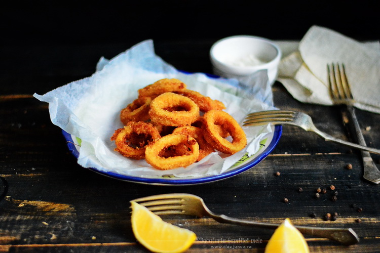 deep fried calamari