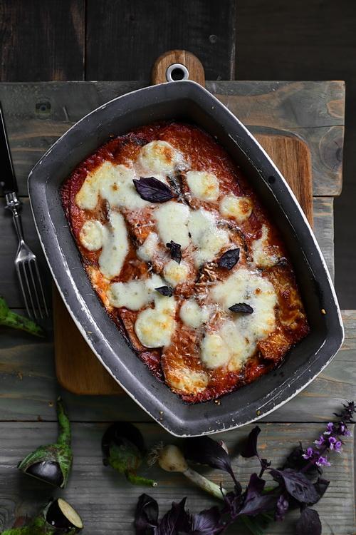 Eggplant Parmigiana - Bucătăria familiei mele - alexjuncu.ro