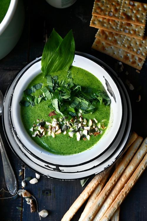 Supa crema de leurda - Bucătăria familiei mele- www.alexjuncu,ro