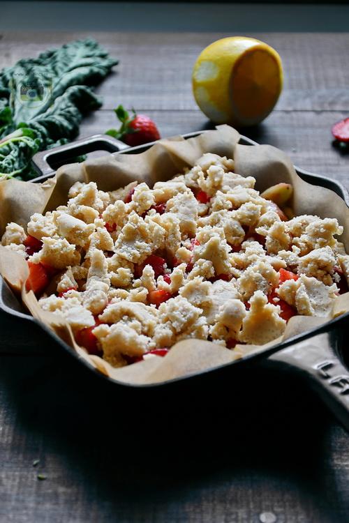 Shortcake cu căpșuni - Bucătăria familiei mele - www.alexjuncu.ro