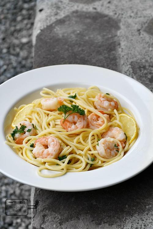 Spaghete cu creveți - Bucătăria familiei mele - www.alexjuncu.ro